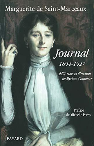Journal de Marguerite de Saint-Marceaux: 1894-1927