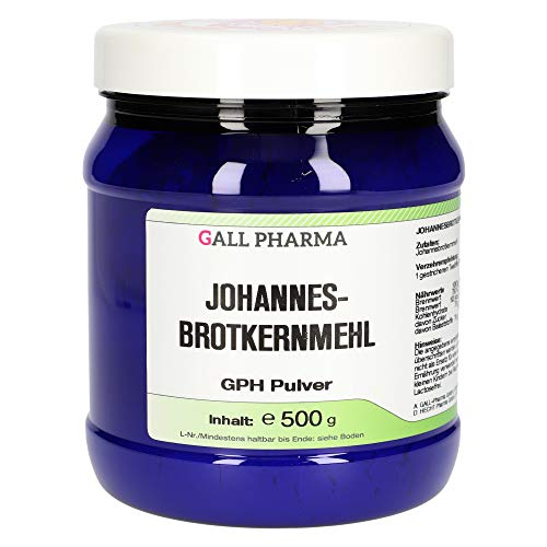 Johannesbrotkernmehl GPH Pulver   100 % Johannisbrotkernmehl   Ideal zum Backen   Bindemittel   glutenfrei, lactosefrei   geschmacksneutral   pflanzlich   500 g