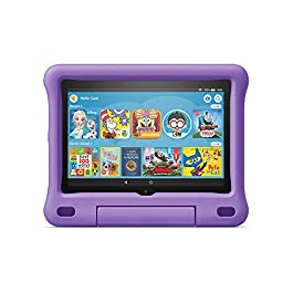 Save up to $94.98 on a full-featured Fire HD 8 tablet (not a toy), 1 year of Amazon Kids+ (FreeTime Unlimited), a Kid-Proof Case with built-in stand, and 2-year worry-free guarantee—versus items purchased separately. 2-year worry-free guarantee: if i...
