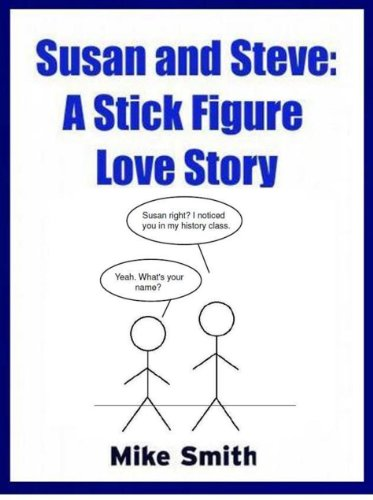 Susan and Steve: A Stick Figure Love Story (English Edition)