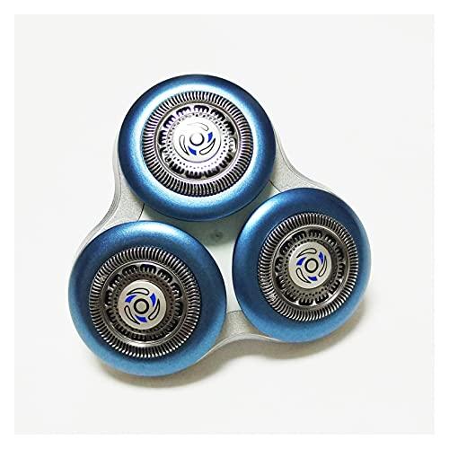 ZRNG Cabeza de afeitadora de reemplazo Fit para Philips Series 7000 9000 RQ10 RQ11 RQ12 RQ111 SH90 / 52 SH90 / 70 SH70 S9711 S9511 S9111 S9000 Lumea