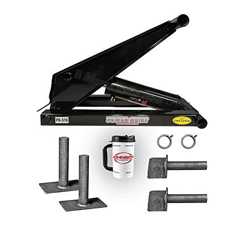 8 Ton (16,000 lb) Dump Trailer Hydraulic Scissor Hoist   PH516   Perfect for Dump Beds & Trailers (Hoist Only)