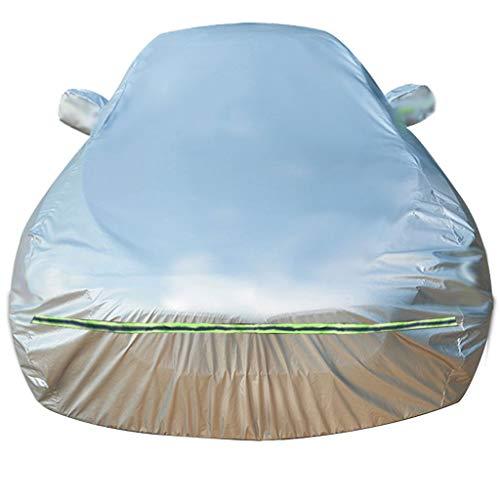 N&A Customized wasserdichte Car Cover Auto-Kasten for Innen- und Außen Kompatibel mit Audi S3, S4, S5, S6, S7, S8, SQ5, SQ7, SQ8 (Color : Silver, Size : S7)