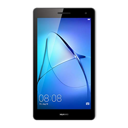 Huawei Mediapad T3 7 Tablet 3G, Display da 7', CPU MT8127 Quad Core A7 1.3GHz, RAM 1 GB, ROM 8 GB, Android, Grigio (Space Gray)