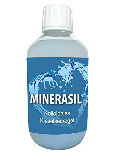 MINERASIL® - kolloidales Silizium - 250 ml - hochkonzentriert - in einer Glasflasche