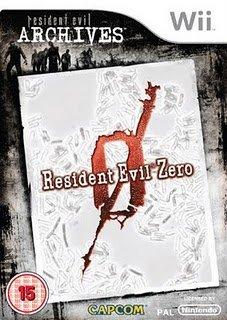 Resident Evil Archives Zero WII