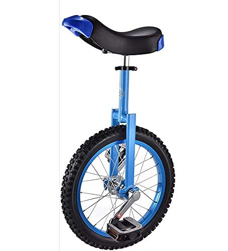 Bicicleta de equilibrio, monociclo con ruedas de 16 '(40,5 cm), llanta de aleación de aluminio duradera y bicicleta de equilibrio de acero al manganeso, para niños principiantes y niñas al aire libre