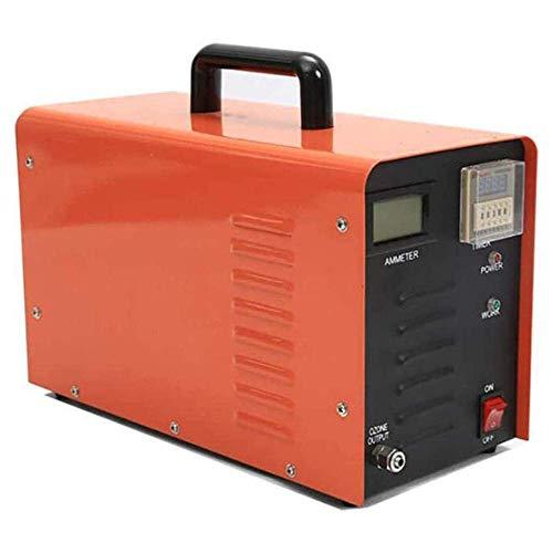 MOSHANG Purificador de aire y esterilizador, desodorante de generador de ozono profesional de O3, para el hogar y el tratamiento del aire y el tratamiento del agua de la fábrica para el polvo, el pole