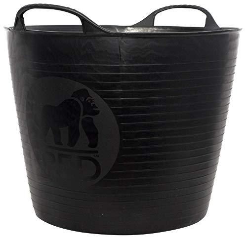 Decco Ltd Dicoal SP26GBK - Cubo Flexible Negro Gorilla 26l