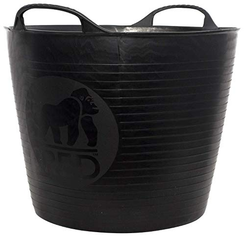 Decco Ltd Dicoal SP26GBK - Cubo Flexible Negro Gorilla 26l