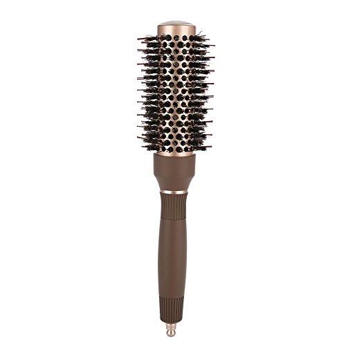 Brosse à cheveux ronde, lonic Tech et peigne à cheveux rond antistatique, brosse de coiffure de salon Accessoires d'outils de coiffure, brosse à cheveux à rouleau pour le séchage(32#)