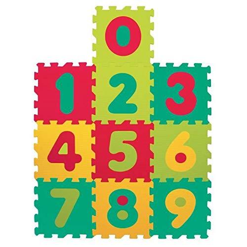 LUDI Alfombra Puzzle números 10 Piezas