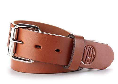 1791 GUNLEATHER Standard Belt, Classic Brown, 38 (Size 34 Pants)