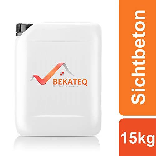BEKATEQ Betonversiegelung BK-1000EP Sichtbeton 2K Epoxidharz seidenglänzend -15kg