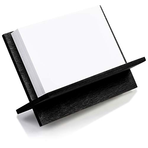 Visitenkartenhalter Aus Holz Schwarz Visitenkartenhalter Für Schreibtisch Holz Namenskartenständer Büro Visitenkartenhalter Tisch Organizer