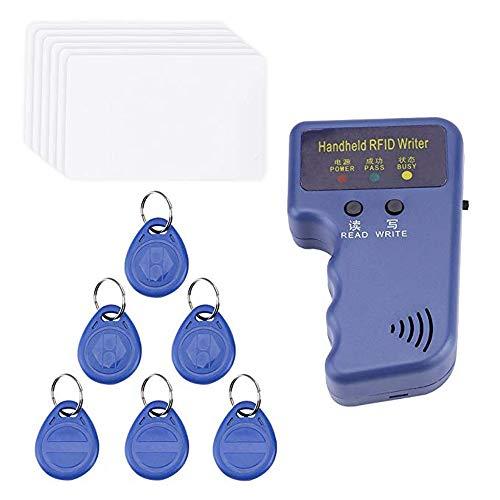 Handheld 125KHz RFID ID-Karte Kopierer Writer Duplicator Programmierer Reader Code Beschreibbar EM4305 ID Keyfobs Tags Karten-Schlüsselkarten