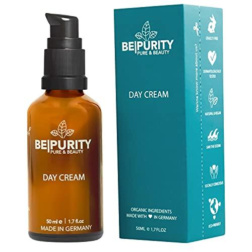 Gesichtspflege Gesichtscreme mit Bio Aloe Vera I Ectoin I 50 ml - Anti Falten Feuchtigkeitscreme...