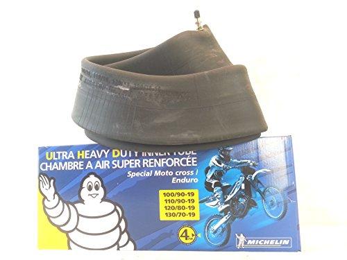 Cámara de aire para moto 19-100/90-110/90-120/80-130/70 UHD de 4 mm reforzada, enduro/cross Michelin