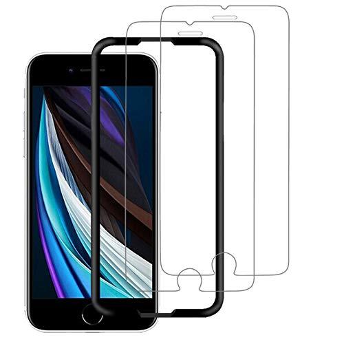 【SE 2020専用】OAproda iPhone SE 第2世代(2020)/SE2 用 ガラスフィルム SE 第二世代 強化ガラス液晶保護...
