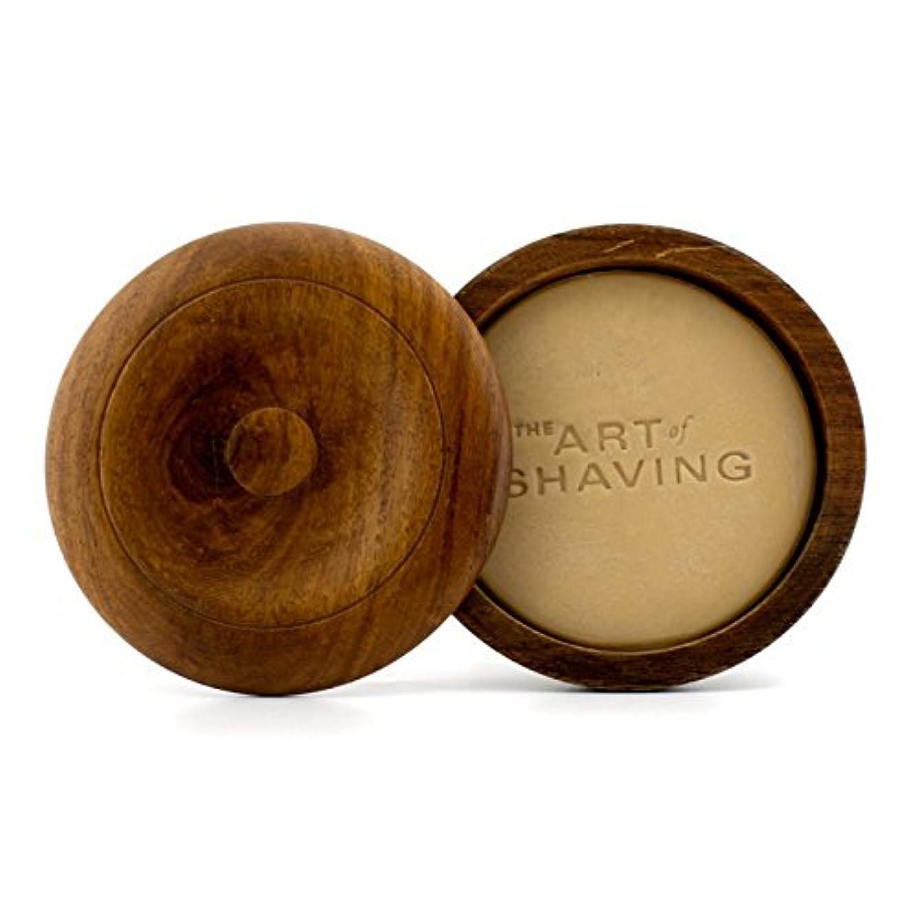 雇った皿断片アートオブシェービング シェービングソープ ケース付 -無香 (敏感肌用) 95g/3.4oz並行輸入品