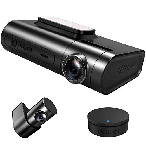DDPAI X2S Pro Dual Channel Car Dash Camera, QHD 2K Loop Recording, Remote Snapshot, Time Lapse Parking Mode, Built-in Wi-Fi, G Sensor, GPS, WDR, Upto 128GB Supported