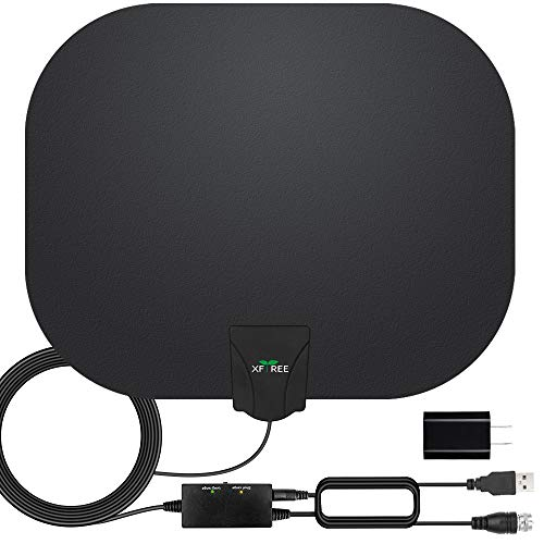 HDTV Antenna, 2020 Newest Indoor Digital TV Antenna 130+ Miles Long Range with Amplifier Signal...
