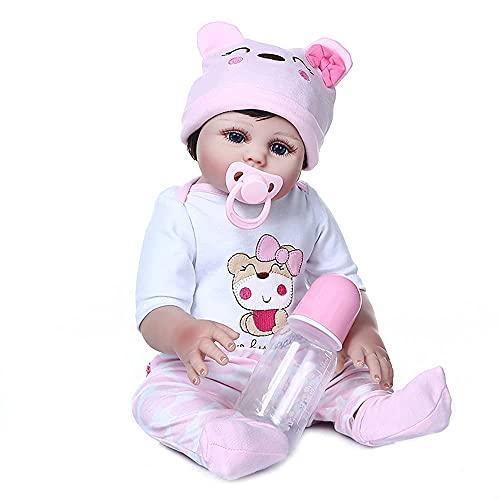 Bebê Reborn Boneca Realista Corpo Inteiro Em Silicone Pode dar Banho Original Boneca Npk
