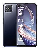 Smartphone OPPO Reno4 Z 5G, écran FHD + 6,57 pouces 120 Hz, appareil photo 48 + 8 + 2 + 2 MP, double caméra frontale 16 MP, ROM 128 Go / RAM 8 Go, bon compris [Exklusiv bei Amazon], Noir d'encre? Version allemande © Amazon