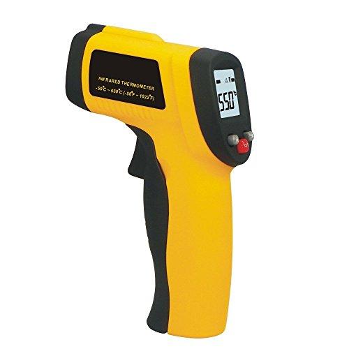 luckystone Temperatura Pistola Sin contacto Digital por infrarrojos (IR) termómetro gama de -58F a 1,022F W/láser de la vista
