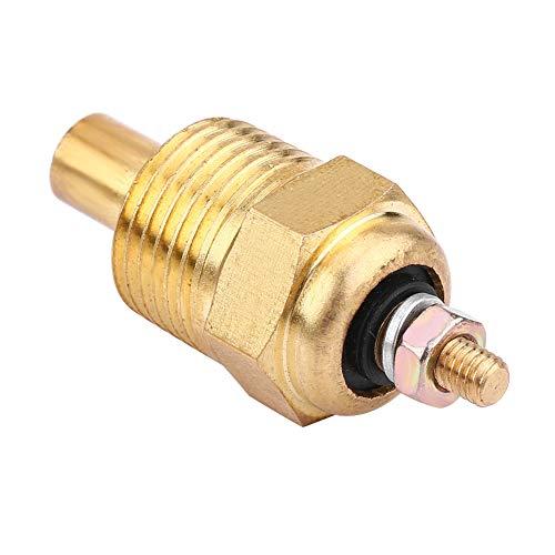 EVGATSAUTO Sensor de temperatura del agua, sensor de temperatura del refrigerante del motor Reemplazar por Mercury Mercruiser 806490T 3853787