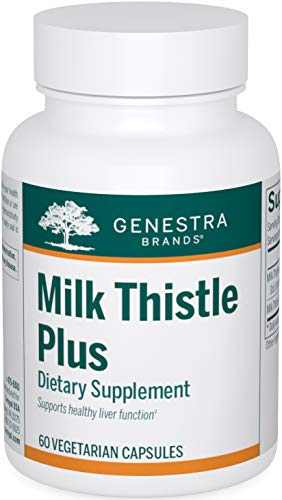 Genestra Brands - Milk Thistle Plus - Herbal Supplement to Support Liver Function - 60 Capsules