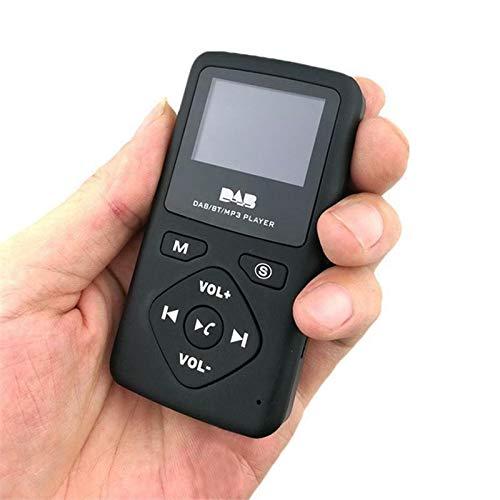 Digital FM Radio Speaker mit Bluetooth MP3 Player Tragbar Mini Pocket DAB//DAB