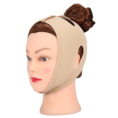 Venda Facial Faja Adelgazante, Adelgazate Facial Vendaje Máscara V Face Line Cinturón Anti Arrugas para el Cuidado Facial Lifting Doble Chin Slim Mer Belt