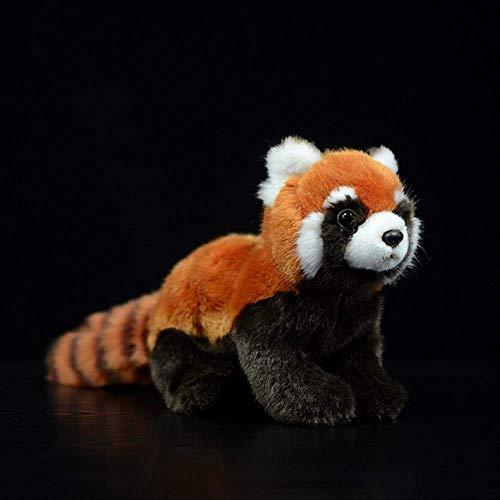 Pluche,Nieuwe 1 St 23 Cm Realistische Speelgoed Rode Panda Beer Kat Levensechte Knuffels Pluche Mindere Panda Pop Voor Kinderen Geschenken 23cm 1