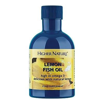 Higher Nature 200ml Lemon Fish Oil from Higher Nature