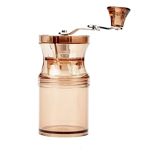 Manual Coffee Grinder with Adjustable Setting,Portable Travel Filter Coffee Machine Mini Compact Drip Coffee Grinder Best Gift for Family and Friends,A