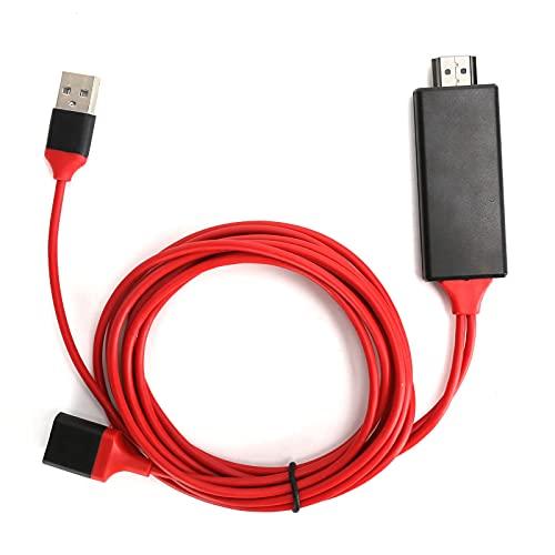 Adaptador de Pantalla de Video Tipo C a HDMI, Cable de 1080P...