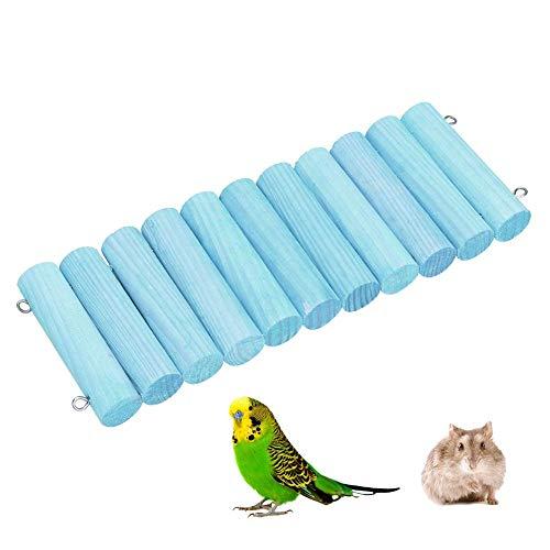 Hamsterbrug, Buigbare Houten Ladder Kleine Huisdieren Hideout Toy Pet Stand Beugel voor Muis Rat Egel Syrische Hamster Papegaaien