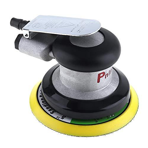 Etbotu 5 Zoll Nicht-vakuummattes Oberflächen-kreisförmiges pneumatisches Schleifpapier-gelegentliche Orbitalluft-Sandpapierschleifmaschine polierte...