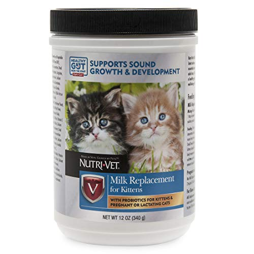 Milk Replacement Powder for Kittens, 12 oz