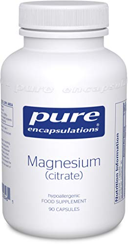 Pure Encapsulations - Magnesium (Citrate) 150mg - Highly Bioavailable Magnesium Chelate - 90 Capsules