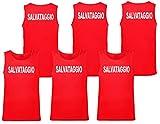 WIXSOO Canotta Salvataggio 3 Pack Uomo (M, Stampa Fronte Retro)...
