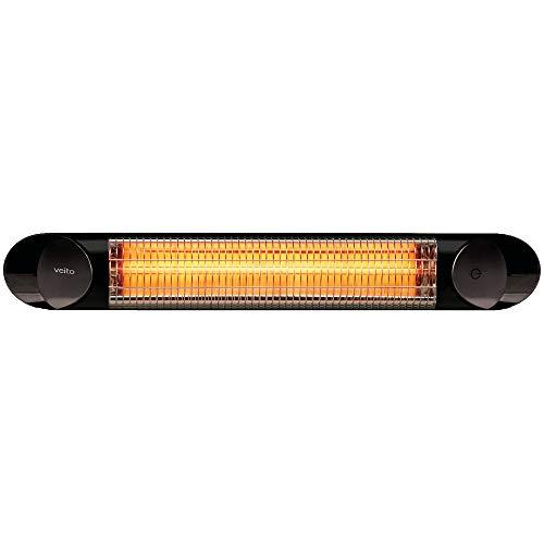 veito | Blade S | Design | Infrarot-Heizstrahler | Terassenstrahler | elektrisch | 4 Heizstufen mit Fernbedienung | 2500 Watt | IP55 | Infrarotheizung
