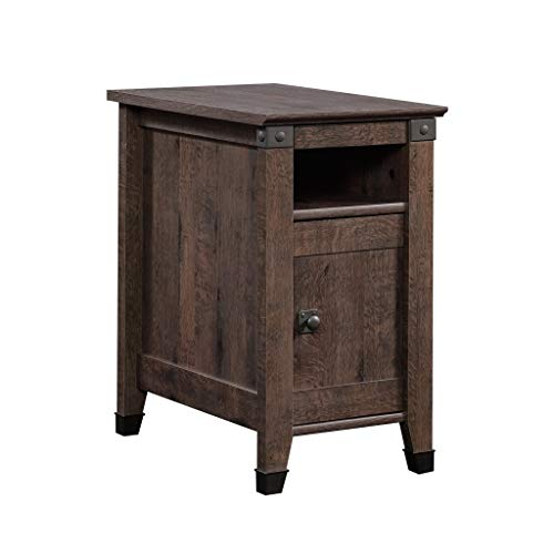 Sauder Carson Forge Side Table, Washington Cherry finish