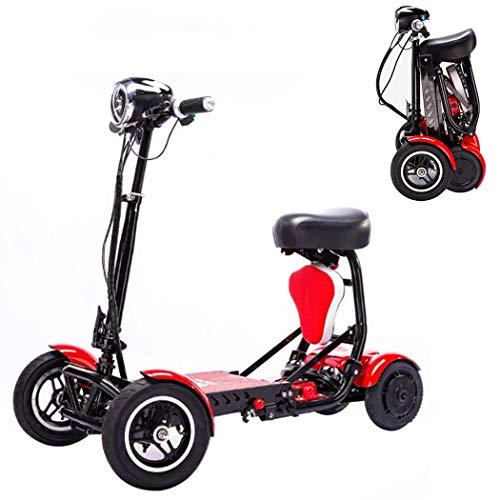 Adulto plegable Mini eléctrico triciclo, asientos dobles / Generación de edad y...