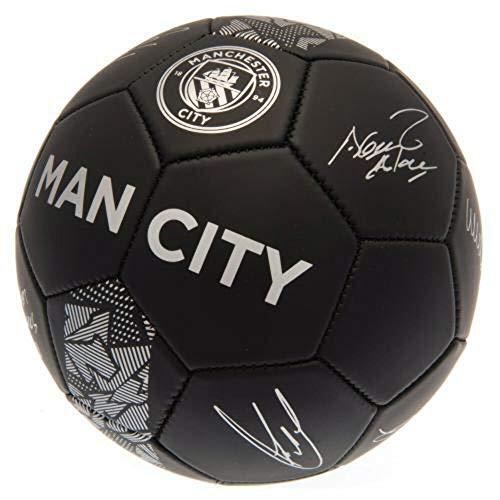 Manchester City Phantom Signature - Balón de fútbol (Talla 5)