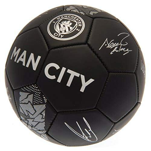 Manchester City Phantom Signature Football - Size 5