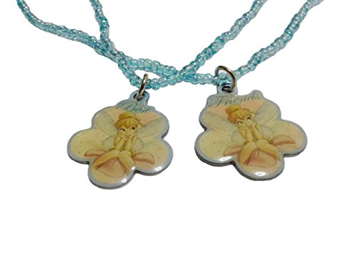 Authentic Disney zweireihig Tinkerbell Halskette Best friends Halskette