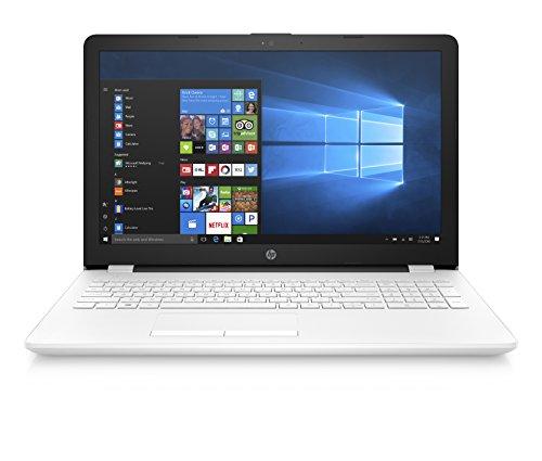 "HP-PC 15-bs523nl Notebook, Intel Celeron N3060, RAM 4 GB, SSD 128 GB, Grafica Intel HD 400, Windows 10 Home, Schermo 15.6"" HD Antiriflesso, Lettore Micro SD, USB, HDMI, RJ-45, Webcam, Bianco"
