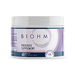 BACKED BY SCIENCE. Our advanced prebiotic supplement contains a blend of prebiotic dietary fiber that works better than the typical supplements that only use inulin prebiotic powder. Our formulation allows for better absorption of nutrients and essen...